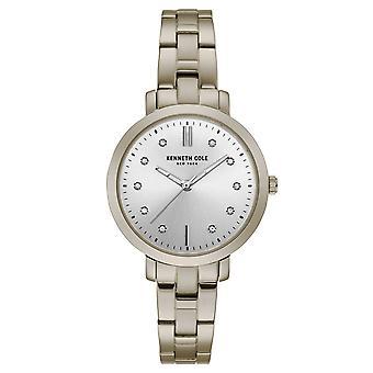Kenneth Cole New York Damen-Armbanduhr Analog Quarz Edelstahl KC15173006