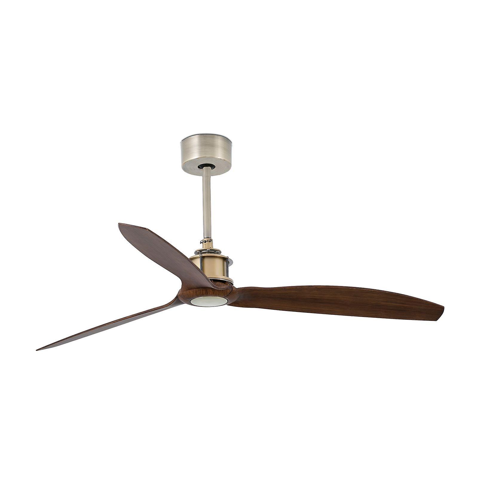 Ventilatore da soffitto Faro risparmio energetico ottone solo ventilatore con telecomando