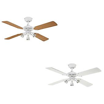 Westinghouse ceiling fan Princess Euro white with lighting