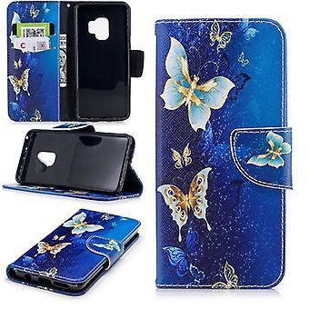 Карман бумажник мотив 26 для Samsung Галактика S9 G960F защиты рукав чехол Чехол новые