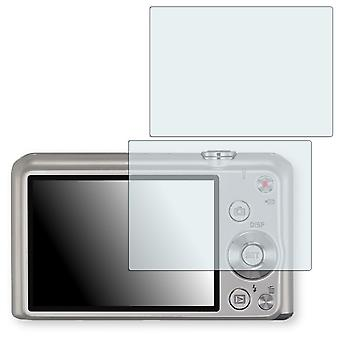 Casio Exilim EX-ZS30 screen protector - Golebo crystal clear protection film