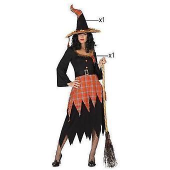 Women costumes  orange witch dress
