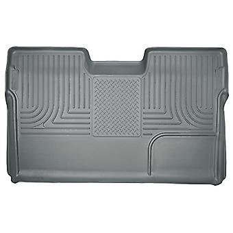 Husky Liner 19332 09-14 F150 Crew Cab Custom Molded Weatherbeater 2Nd Seat Floor Liner Grey
