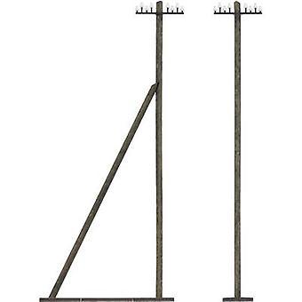 Busch 1499 H0 Telegraph poles