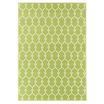 In- en outdoor carpet balkon / huiskamer van vitaminic Trelly green 160 x 230 cm