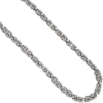 Necklace chain 925 Sterling Silver 50 cm silver chain carabiner