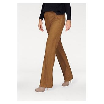 Aniston Marlene pants in Velourlseder look short size large size