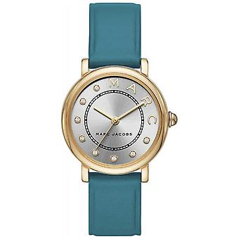 Marc Jacobs Womens Marc Jacobs klassiska Teal Leatherr MJ1633 klocka