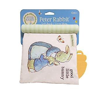 Beatrix Potter, libro suave de Peter Rabbit con mordedor