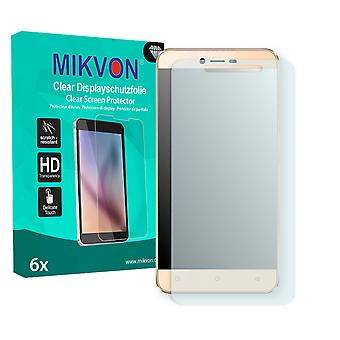 Mobistel Cynus E8 Screen Protector - Mikvon Clear (Retail Package with accessories) (intentionally smaller than the display due to its curved surface)