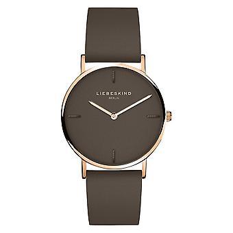 LIEBESKIND BERLIN damer klocka armbandsur läder LT-0133-LQ