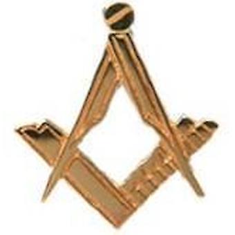 David Van Hagen Masonic 9ct Gold-Tie Tac - Gold