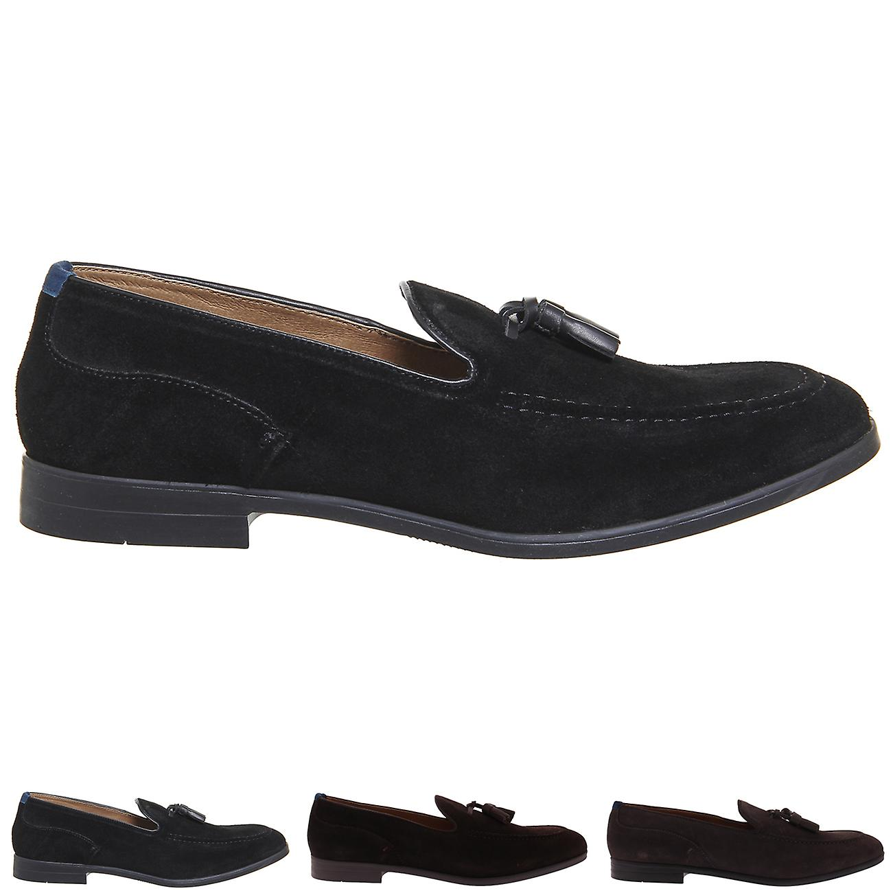 s H Suede By Hudson Aylsham Crafted Suede H Work Smart Office Loafers Shoes 6520a4