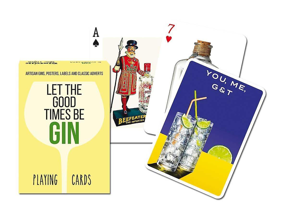 Spillekort Piatnik Gin