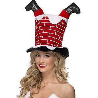 Smiffy's Santa Stuck In Chimney Hat