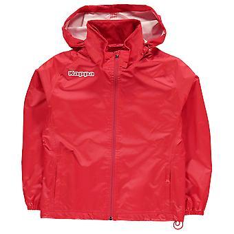 Kappa Kids jongens trainen regen jas Junior lange mouw prestaties Shirt vacht Top