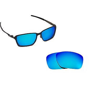 Tincan Carbon Replacement Lenses Polarized Blue by SEEK fits OAKLEY Sunglasses