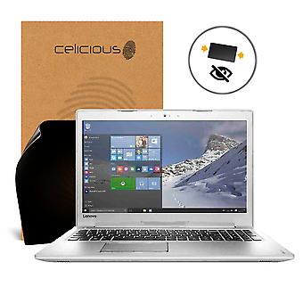 Celicious Privacy 2-Way Anti-Spy Filter Screen Protector Film Compatible with Lenovo ideapad 510 (15)