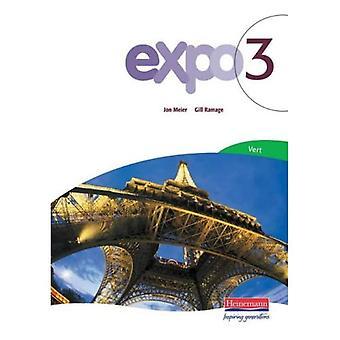 Expo 3: Vert Pupil Book