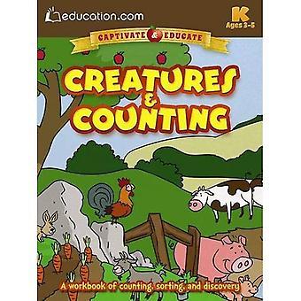 Varelser & Counting: En arbetsbok för inventering, sortering och identifiering