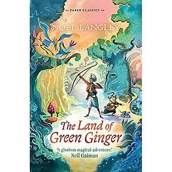 El jengibre de la tierra de verde (Faber infantiles clásicos)