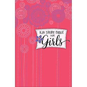 KJV studie Bibeln för flickor inbunden