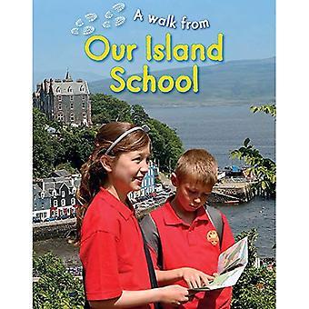 Un pied: Notre école île
