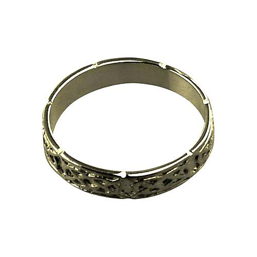 9ct Gold 4mm Celtic Wedding Ring Size Y