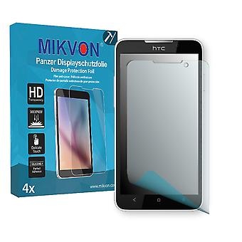 HTC Desire 516 Screen Protector - Mikvon Armor Screen Protector (Retail Package with accessories)