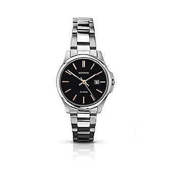 Sekonda wristwatch, female, stainless steel, Silver (2)