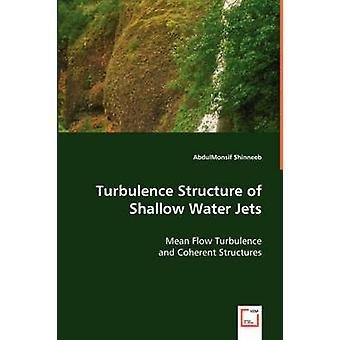 Estructura de la turbulencia de chorros de agua por Shinneeb y AbdulMonsif