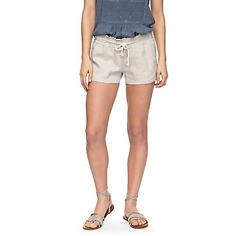 Roxy Womens Oceanside Shorts - Stone