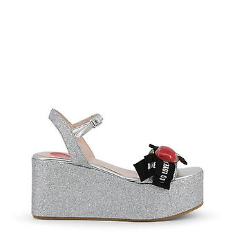 Love Moschino Women Grey Wedges -- JA16188592