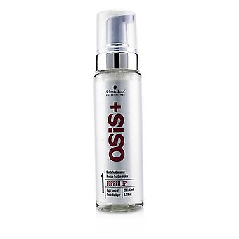 Schwarzkopf Osis+ Topped Up Gentle Hold Mousse (light Control) - 200ml/6.7oz