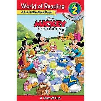 World of Reading Mickey and Friends 3-In-1 Listen-Along Reader (World