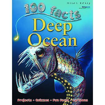 100 Facts Deep Ocean by Camilla De la Bedoyere - 9781848102828 Book