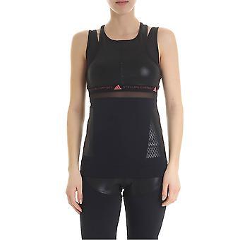 Adidas By Stella Mccartney Black Nylon Top