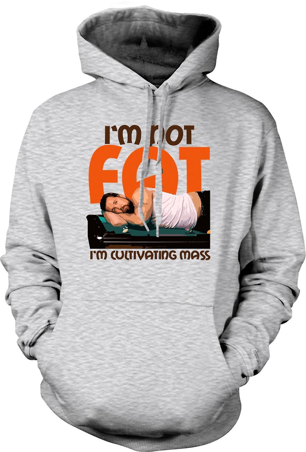 Mens Hoodie - Im inte fett - dess alltid soligt i Philadelphia