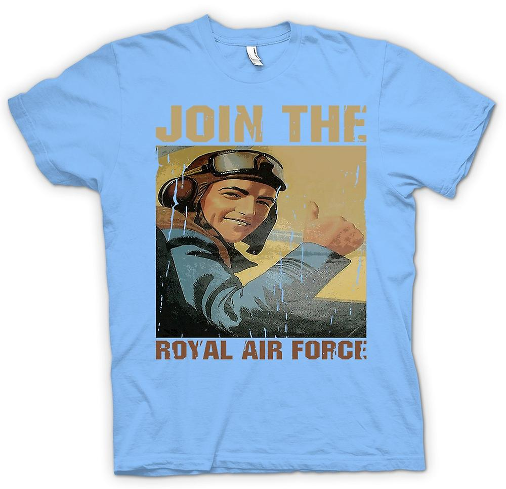 Mens T-shirt - Join der Royal Air Force - RAF WW2