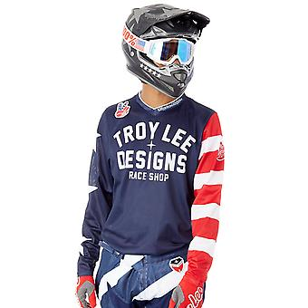 Troy Lee Designs Americana Navy 2018 GP Air MX Jersey