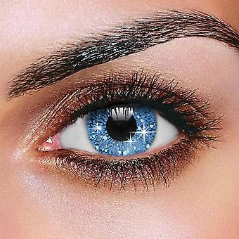 Glimmer Blue Color Contact Lenses