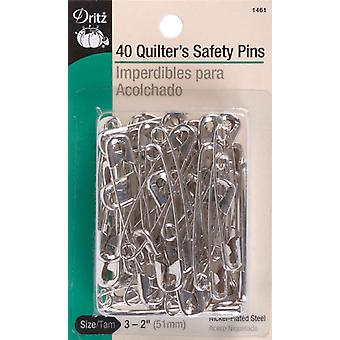 Quilter's Safety Pins Size 3 40 Pkg 1461