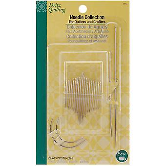 Dritz Quilting Needle Collection Assorted 24 Pkg 3413