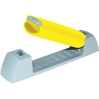 Clip Self-adhesive resealable Light grey, Yellow