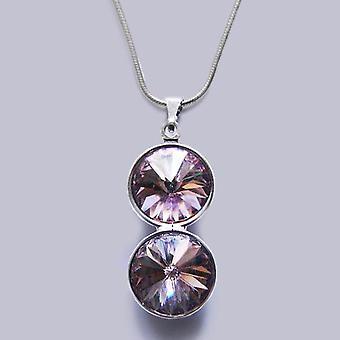 Кулон ожерелье с кристаллами Swarovski PMB 3.3