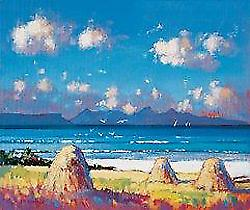 Ed Hunter print - Heuschober. Arisaig