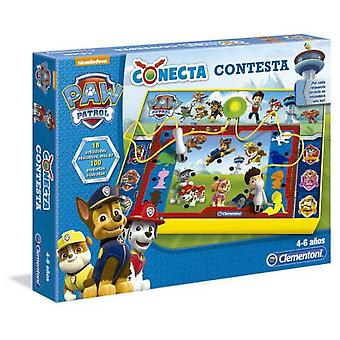 Clementoni Answer Connect Paw Patrol (Speelgoed , Bordspellen , Kennis)