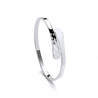 Ying e Yang Bangle in argento francese di Cavendish