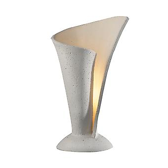 Dar Orchid ORC4234 Table Lamp Single Contemporary