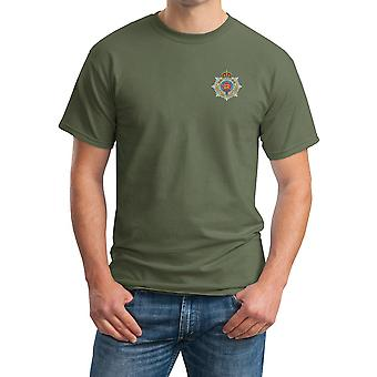 Royal Army Service Corps RASC Embroidered Logo - Official British Army Ringspun T Shirt